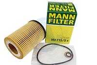 Масляный фильтр mann HU 715/5 x элемент