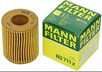 Масляный фильтр mann HU 711 x элемент