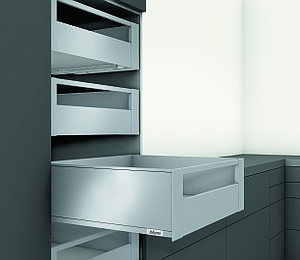 LEGRABOX 40 кг C 550 Орион серый внутренний ящик с релингом