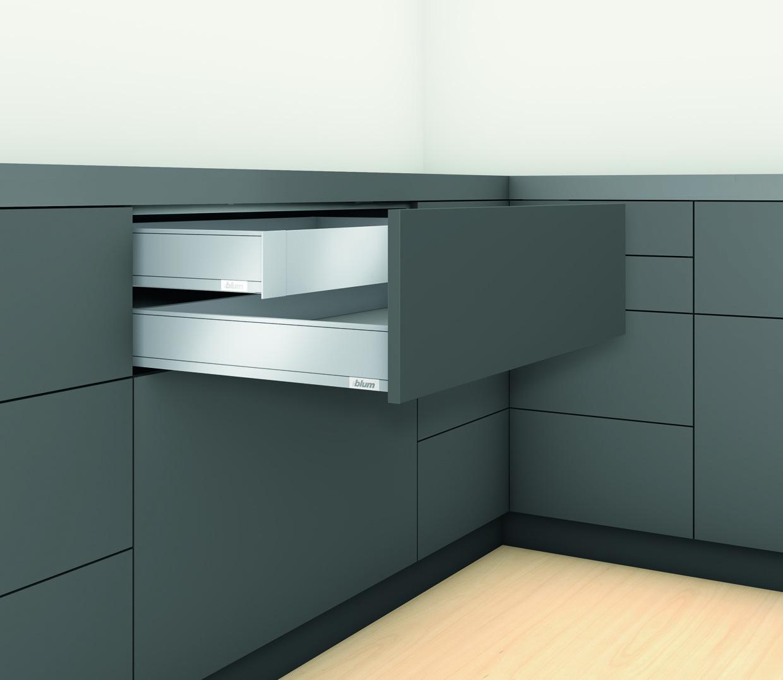 LEGRABOX 40 кг M 450 Орион серый внутренний ящик (без передней панели)