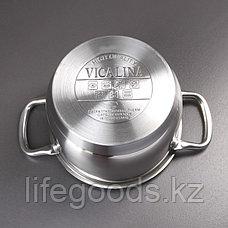 Кастрюля со стеклянной крышкой, Vicalina VL-1074, 3 л, фото 3