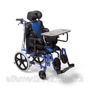 Складное алюминиевое кресло-коляска для инвалидов с ДЦП  детское