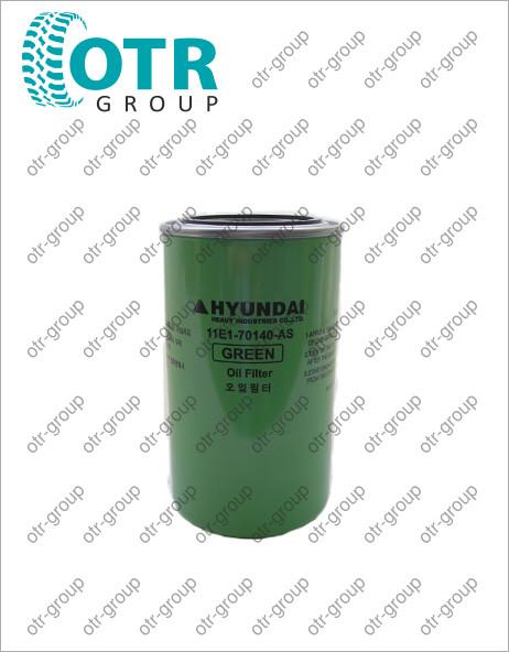 Фильтр масляный двигателя HYUNDAI R250LC-7 11E1-70140