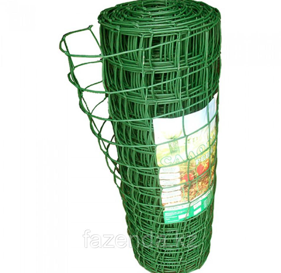 Заборная решетка с ячейкой 90*90мм, Высота 1м