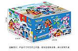 Конструктор WOMA  4 набора c0750-1-4 Robocar Poli Робокар Поли и его друзья 2 в 1 аналог Lego, фото 6
