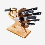 Кухонные ножи и подставки