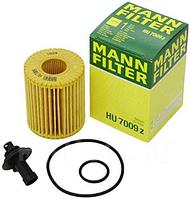 Масляный фильтр mann HU 7009 z элемент