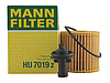 Масляный фильтр mann HU 7019 z  элемент