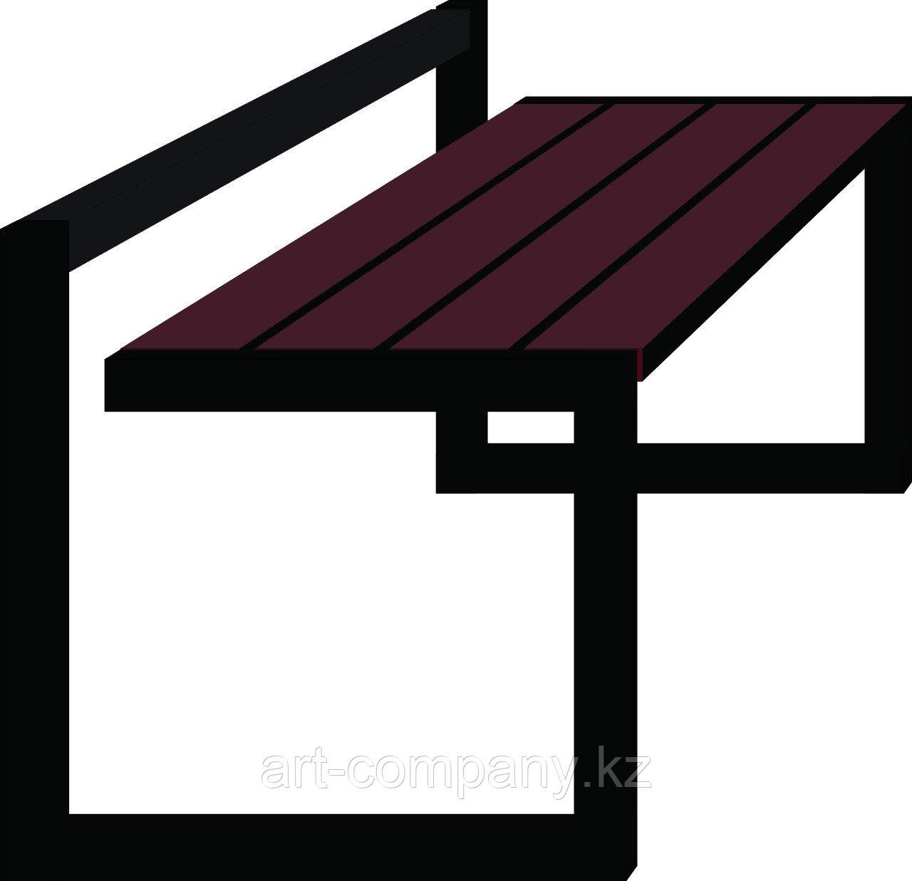 Скамейка необычный дизайн