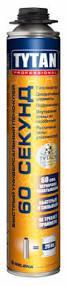TYTAN 60 Секунд  представляет собой многоцелевой пено-клей с высокой адгезией ко многим материалам и основания