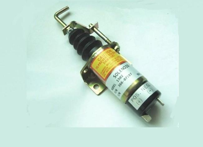 Отсечки топлива электромагнитный Замена для Lister Питер запорной арматуры 36607197 12 В 24 В, фото 2