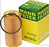 Масляный фильтр mann HU 719/6 х  элемент