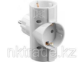 Разветвитель электрический MAXElectro, STAYER 55093-3, 3 гнезда, 16А/220В