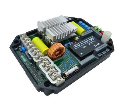 Универсальный АРН UVR6 220-480VAC однофазный для бесщеточного генератора, фото 2
