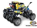 Конструктор qihui 5803 technics ''краулер джип (инерционная модель) аналог лего lego, фото 4