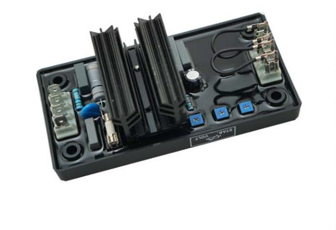Генератор щеточного типа 5kva Avr R230 для генератора, фото 2