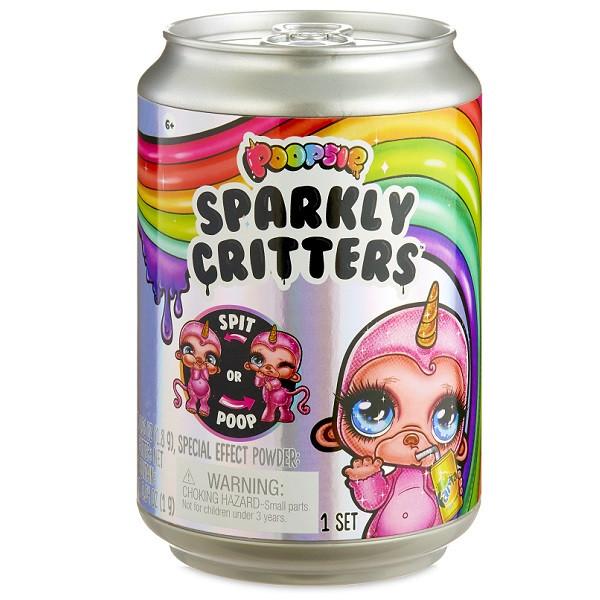 Poopsie Sparkly Critters в банке газировки, слайм 1/8 Poopsie Surprise Unicorn