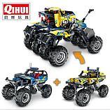 Конструктор qihui 5804 technics ''краулер джип (инерционная модель) аналог лего lego, фото 2