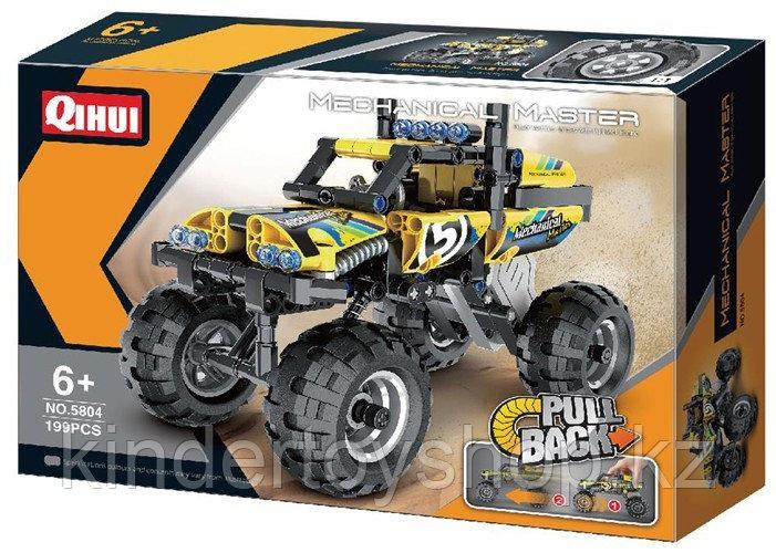 Конструктор qihui 5804 technics ''краулер джип (инерционная модель) аналог лего lego