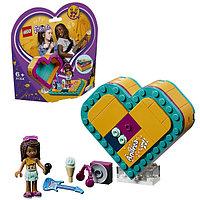 Lego Friends 41354 Конструктор Шкатулка-сердечко Андреа, фото 1