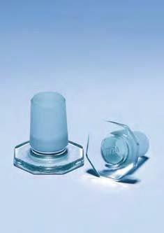 Пробка стеклянная массивная, ПМ 24/29 (Pyrex)