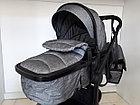 Коляска трансформер Baby Stroller с сумкой 2 в 1 Зима-лето, фото 5