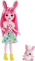 """Enchantimals Кукла """"Энчантималс"""" с питомцем - Бри Кроля, 15 см (FXM73)"""