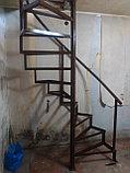 Винтовая лестница в Алматы, фото 2