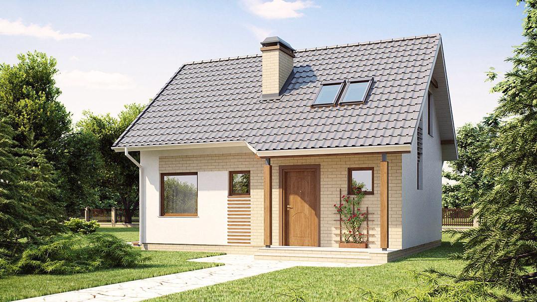 Строительство дома «под ключ» по проекту «Илария»