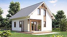 Строительство дома «под ключ» по проекту «Илария», фото 2