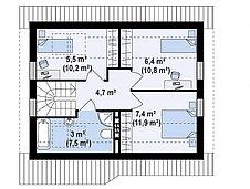 Строительство дома «под ключ» по проекту «Илария», фото 3