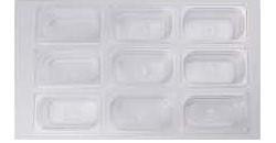 Гастроемкость GASTRORAG P19065 GN 1/9-65 (176х108х65) поликарбонат