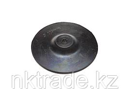 Тарелка опорная ТЕВТОН резиновая с шестигранным хвостовиком, для дрели, 125мм 3579-125
