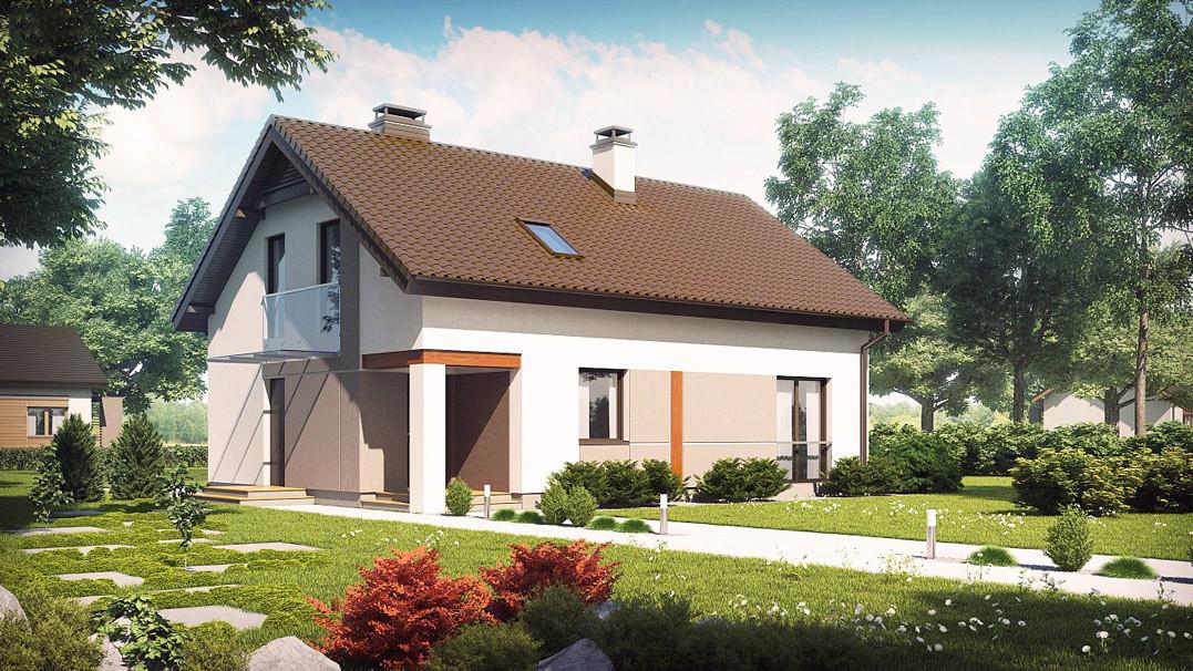 Строительство дома «под ключ» по проекту «Маркус»