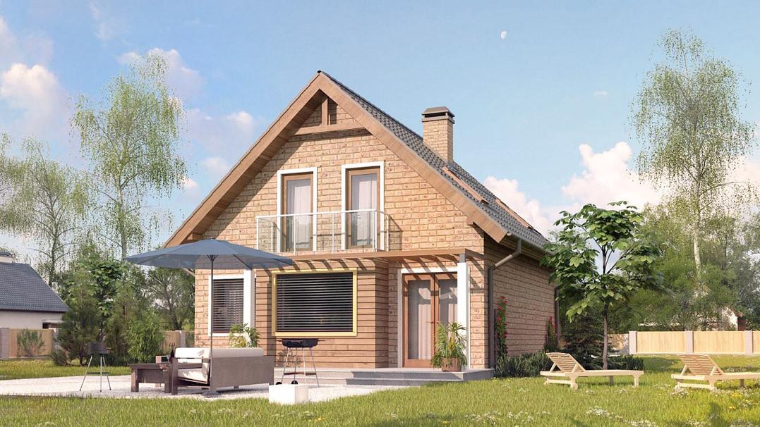 Строительство дома «под ключ» по проекту «Панкрат»
