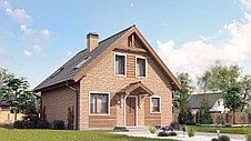 Строительство дома «под ключ» по проекту «Панкрат», фото 2