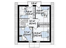 Строительство дома «под ключ» по проекту «Панкрат», фото 3