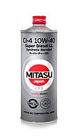 Моторное масло MITASU SUPER LL DIESEL CI-4 10W-40 1литр