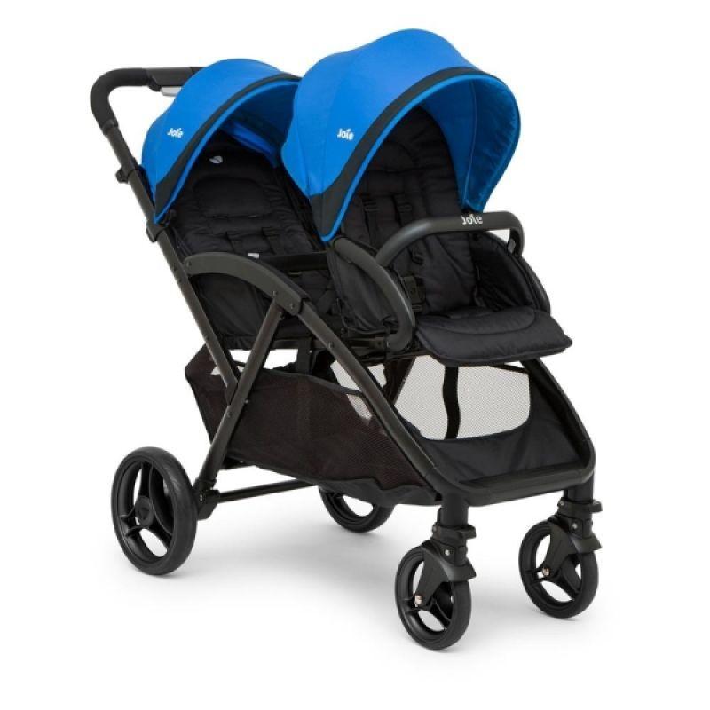 Прогулочная коляска для двойни Joie Evalite Duo Blue Bird