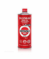 Моторное масло MITASU RACING MOTOR OIL SN 10W-60 1литр