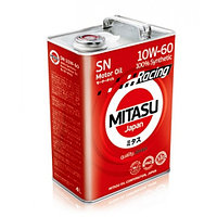 Моторное масло MITASU RACING MOTOR OIL SN 10W-60 4литра