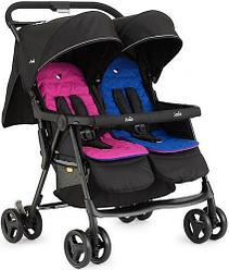 Прогулочная коляска для двойни Joie Aire Twin PInk / Blue