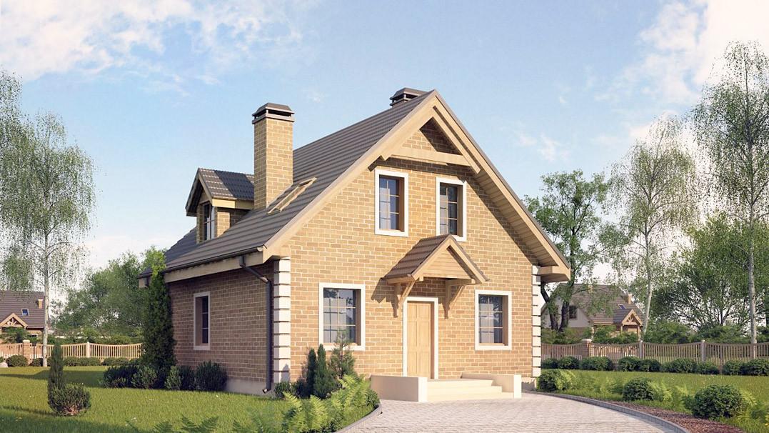 Строительство дома «под ключ» по проекту «Каролос»