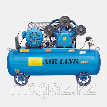 Двухступенчатый мобильный воздушный компрессор W-0,53/12,5 , фото 2