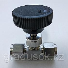 Кран игольчатый ИК-6 мм
