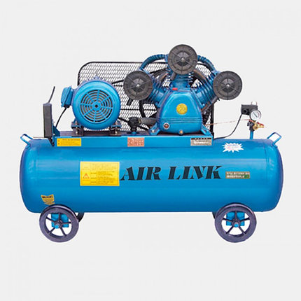 Двухступенчатый мобильный воздушный компрессор W-1,50/12,5 , фото 2