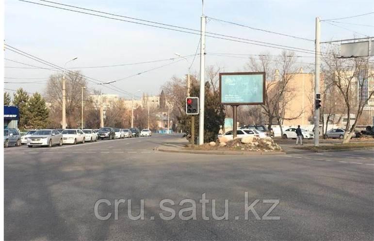 Тимирязева - Жандосова, восток