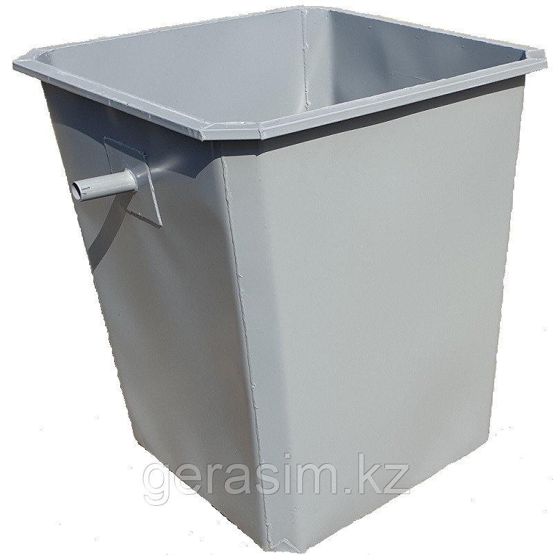 Мусорный контейнер 0,75 куб., бак для ТБО универсальный (в т.ч. НДС 12%)