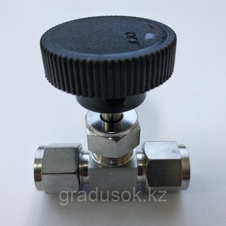 Кран игольчатый ИК-10 мм
