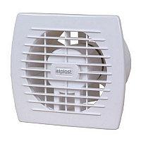 Накладной вентилятор Europlast E150HT- с таймером и датчиком влажности